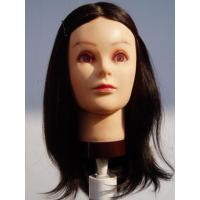 China MANNEQUIN TRAININ HEAD Human hair mannequin training head on sale