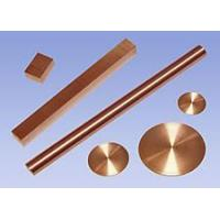 Quality Tungsten-CopperAlloys Plates / Rods / Parts for sale