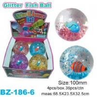 Glitter Bouncing Ball with Fish