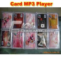 Quality Mp3 player Card Shape MP3 (3) for sale