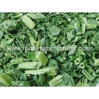 Quality Freeze Dried Vegetables Freeze Dried Spinach Dices for sale