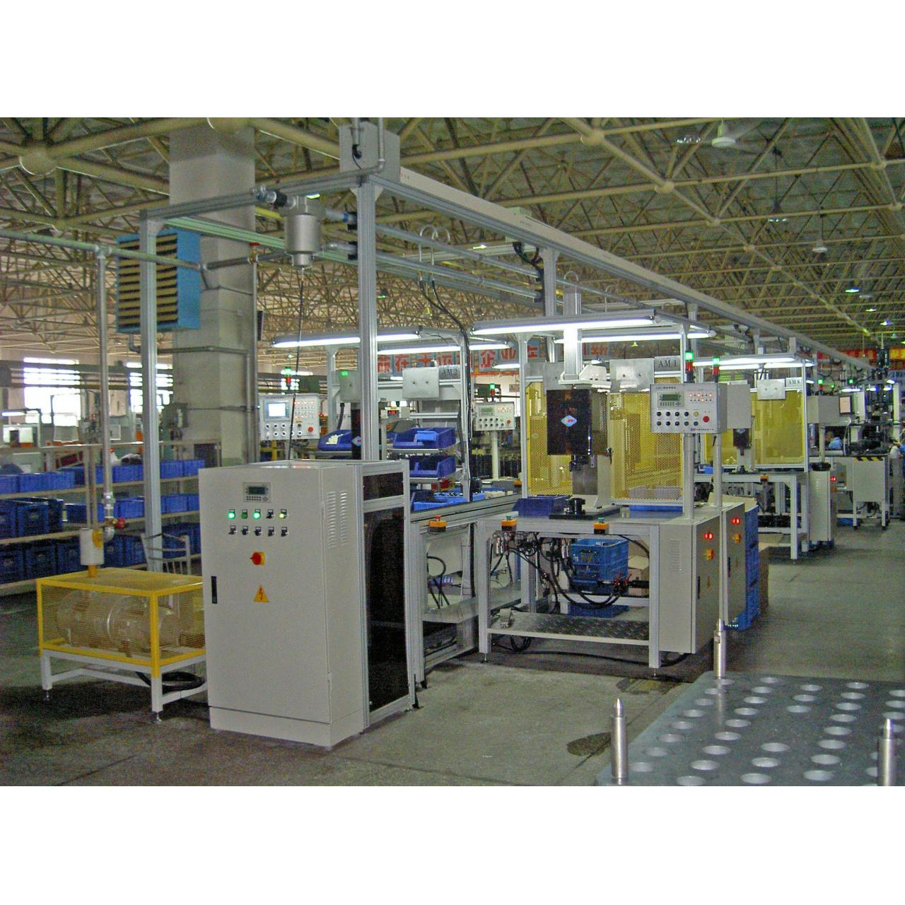 Quality Assembly Line for Vacuum Booster with Double Membranes for sale