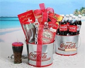 Buy Coca-Cola Summer Gift Basket at wholesale prices