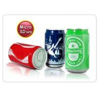 Quality Cola can shaped MP3 player (MicroSD TF card slot) for sale