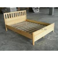 Buy cheap knocked-down wooden bed from Wholesalers
