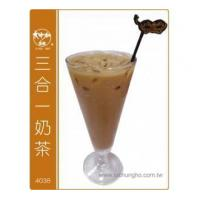 Quality 4038 3 in 1 Instant Soluble Milk Tea Powder 1kg for sale