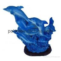 China polyresin dolphin, dolphin statue crafts on sale