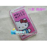 Quality wholesale Hand-make Crystal diamond Case Cover For apple iPhone 4&4G for sale