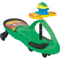 Swing Car with music steering and toy frisbee