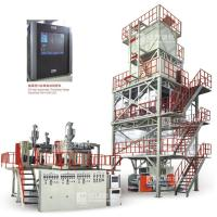 Quality Three-layer Co-extrusion Polyolefin Heat-shrinkable Film (POF) Blowing Machine Unit for sale