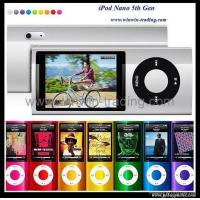 Quality Newest iPod Nano 5th/4th Generation 2.2inch FM/MP4 Player with 1.3M pixel camera for sale