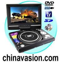Quality Portable DVD and Multimedia Player with 7 Inch Widescreen LCD for sale