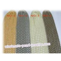 Quality Round rainbow shell pearl strands, 8mm or above for sale
