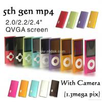 China ALK-MP208 ipod 5gen mp3 players with 1.3m pix camera on sale
