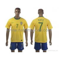 Quality 2010 FIFA National Team Brazil jerseys for sale