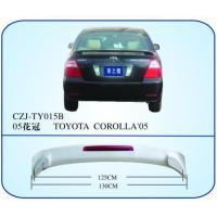 China AUTO REAR SPOILER FOR TOYOTA COROLLA'05 on sale