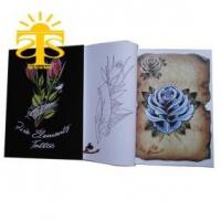 Quality Five Element Tattoo - Flower tattoo tattoo flash design tattoo books popular design FREE SHIPPING for sale