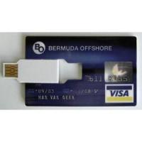 China Originally issued by Bank-Americard VISA card shape pen drive ( SB004 ) on sale