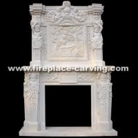 Sell Marble Fireplaces Surrounds (A-FP059)