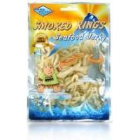 Quality Calamari Jerky Smoked Rings for sale