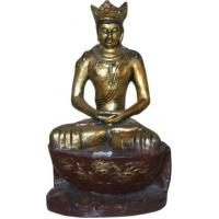 China Buddha Statue S101-antique red on sale