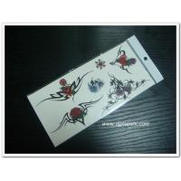 Quality Temporary Body Tattoo Temporary flower tattoo sticker for sale