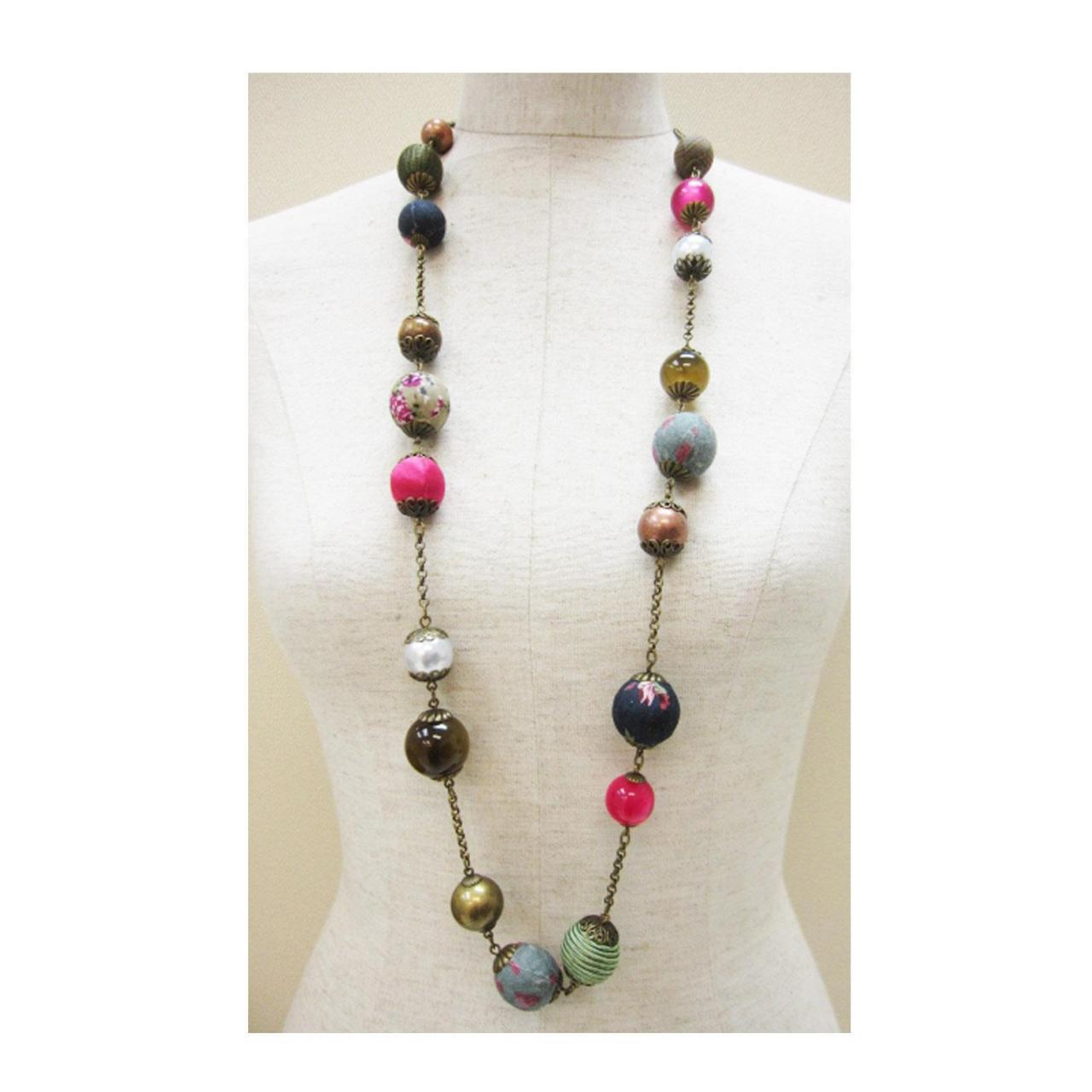 Quality Colorful beads necklace for sale