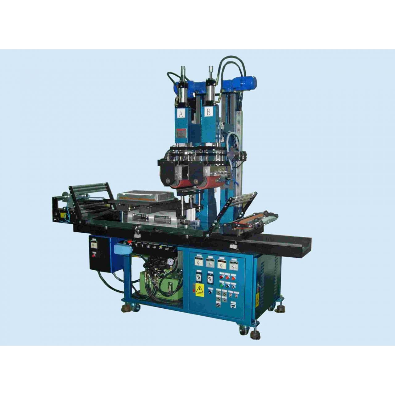 Quality Heat transfer machine with double roller for sale