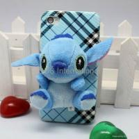 Quality Stereo various 3D lint cartoon hard case for iphone 4G 4S for sale