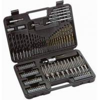 Buy cheap Power tool Accessories 109pc drill bits set from wholesalers