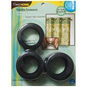 """Quality Curtain Grommets Black 1 9/16"""" (Pack 8) for sale"""