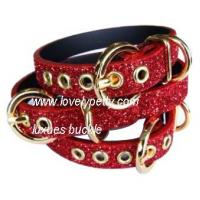 Quality Leather dog collar & lead for sale