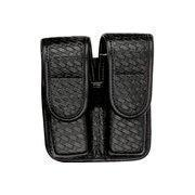 Buy cheap Bianchi 7902 Double Mag Pouch - Basket Black, Brass 22193 from wholesalers