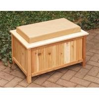 Quality Cedar Outdoor Storage Bench w/ LinerItem #: 25237 for sale