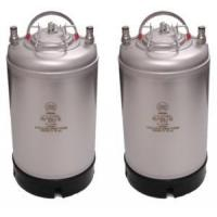 Quality Ball Lock - NEW - 3 Gallon Kegs - 2 Pack for sale
