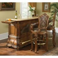 Buy cheap Tuscano Tuscano Bar Set with Marble Top (Table and 2 Stools) - AICO from wholesalers