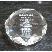Quality Crystal Trophies and Figurines Crystal Diamond Paperweight (FC-07) for sale