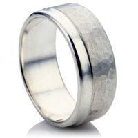 Quality Rustic Wedding Ring for Men for sale