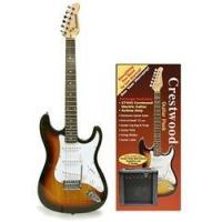 China Crestwood Complete Electric Guitar Package - Tobacco Sunburst on sale