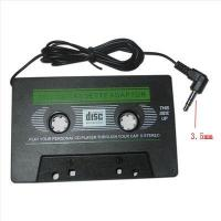 Quality BLACK CAR AUDIO CASSETTE FOR IPOD MP3 CD PLAYER for sale