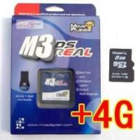 Quality M3 DS Real Rumble Pack Bundle + 4GB MicroSD For Nintendo DS for sale