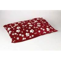 China Animal Instincts - Red Paws Dog Bed Mattress - Large Approx. 145cm x 95cm on sale