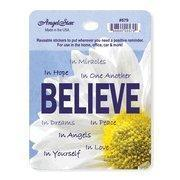Quality Sticker - BELIEVE - in Hope, One Another, Dreams, Yourself 3x3 Reusable for sale