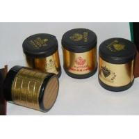 Quality Antique bacardi / johnnie walker dice cup / shaker, customized logo by silk print / deboss for sale