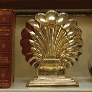 Quality Art Deco Double Shell Bookend for sale