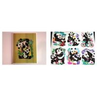 Quality Chinese Panda Cards - Set Of Four for sale