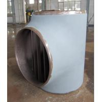 Quality High Pressure Pipe Fitting ASME A234 WP9 Steel Tee for sale