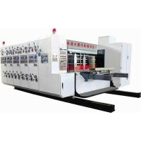 GSYM2610 Type four color high speed flexo printing slotting and rotary die cutting machine