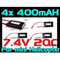 Buy cheap 4X RC Lab 400mah 7.4v 20c from wholesalers