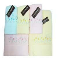 Buy cheap Jacquard Flower Bath Towel from Wholesalers